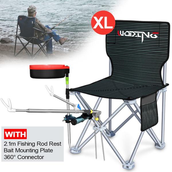 Outdoor Ultra-light Portable Folding Chair Fishing Beach Camping BBQ Seat