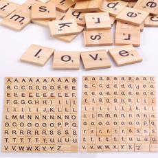 Wood, woodscrabbletile, woodletter, Craft