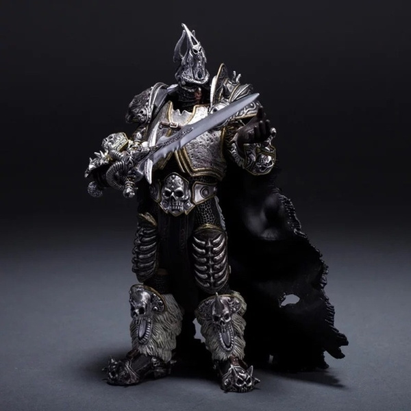Figma Model Unlimited World Of Warcraft Deluxe 7 Inch Collector Figure The Lich King Arthas Menethil