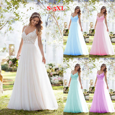 Sleeveless dress, Plus Size, Lace, Evening Dress