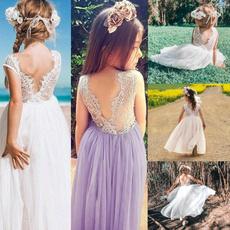 Summer, Lace, Dress, Wedding