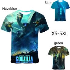 3dprintedshirt, godzilla3dprinttshirt, Funny T Shirt, Fashion