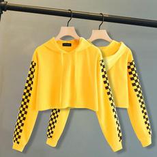 Hoodies, Fashion, crop top, pullover hoodie