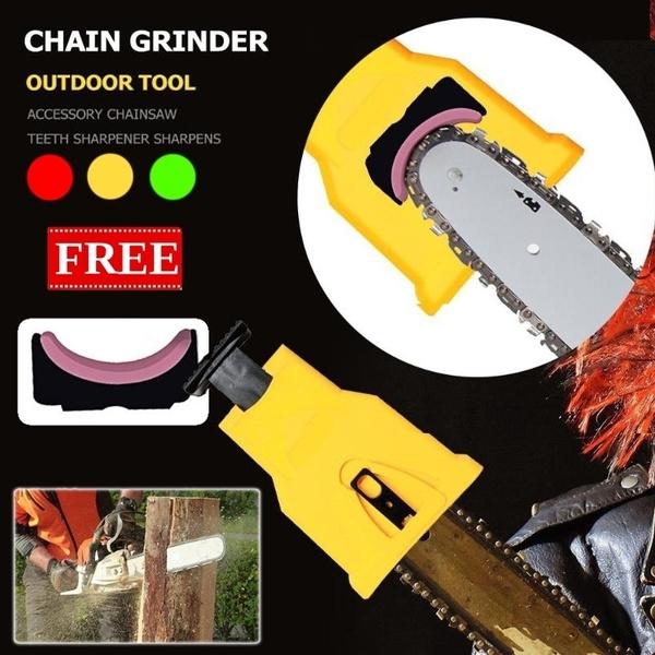 Chainsaw Teeth Sharpener Sharpens Bar-Mount Chainsaw Saw Chain Sharpening Tool