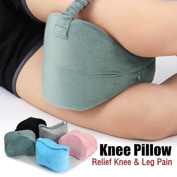 Memory Foam Wedge Contour Sleeping Knee Pillow Side Sleepers Back