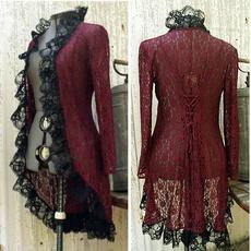 Fashion, Coat, Medieval, Steampunk