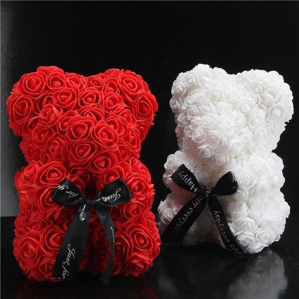 Flowers, flowersbear, Gifts, rosebear