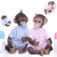 cute, Toy, realisticmonkey, monkey