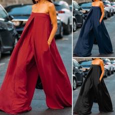 womenstrouser, Plus Size, pants, Tube top