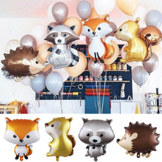 decoration, foilballoon, birthdayballoon, woodland