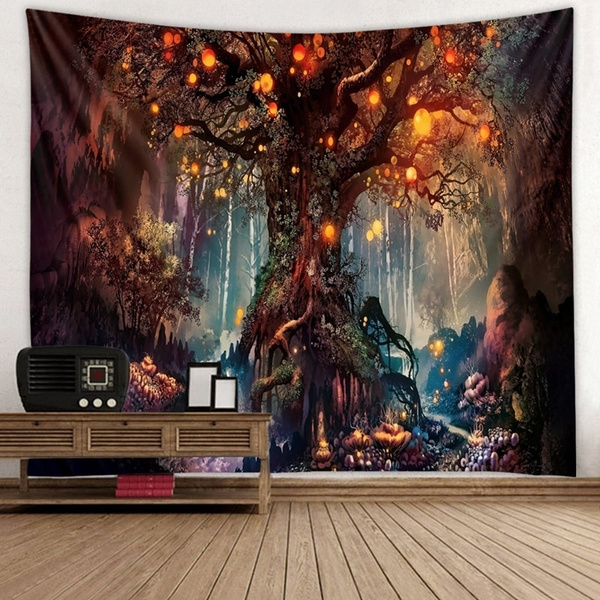 homedecorationaccessorie, tapestryforbedroom, mandalatapestry, Colorful