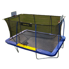 trampoline, enclosurefamilyfunaddonsafesportplaygame, Basketball, Sports & Outdoors
