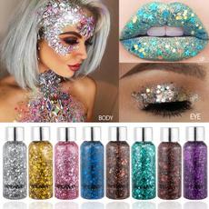 glittereye, Makeup, Colorful, Beauty