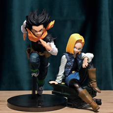 Collectibles, android18, goku, doll