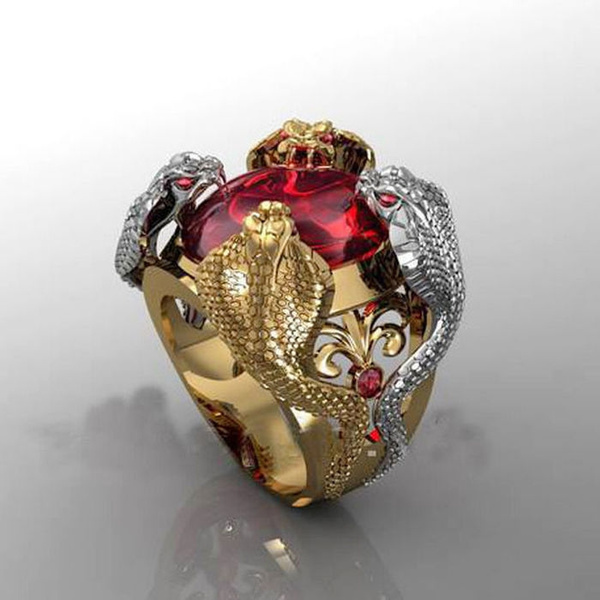 Sterling, Cobra, 18k gold, Jewelry