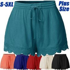 Summer, Plus Size, pants, women's pants