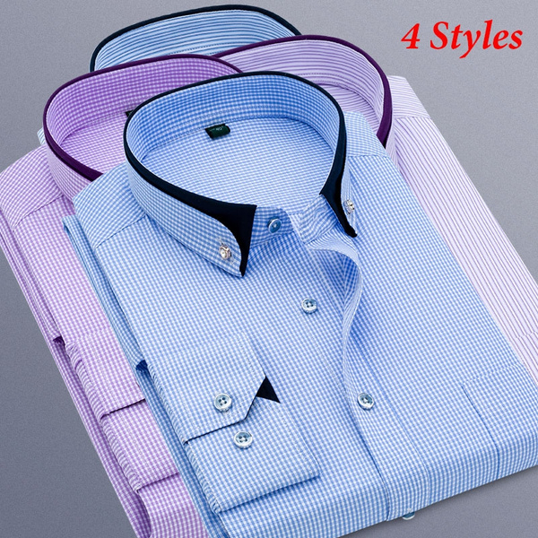 Plus Size, formal shirt, Dress Shirt, Sleeve