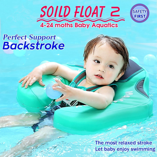 Baby Swim Inflatable Swimming Ring Pool Summer Infant Trainer