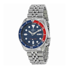 Steel, Waterproof Watch, Stainless Steel, Watch