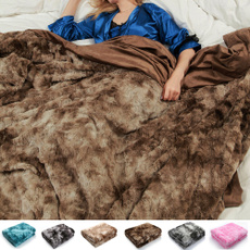 Soft, lights, fur, Throw Blanket
