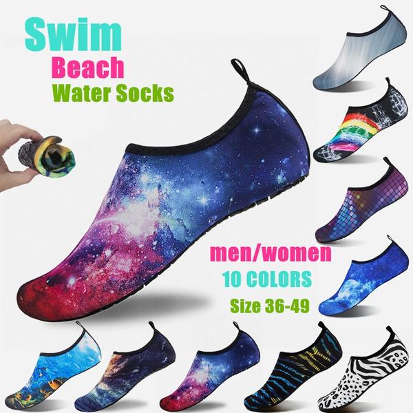Yoga Exercise Pool Swim Slip On Surf Men Women Skin Water Shoes Aqua Beach Socks