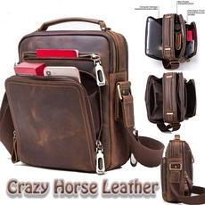 mentravelbag, Shoulder Bags, Fashion, genuine leather bag.
