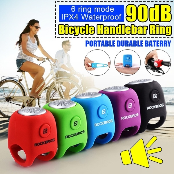 Cycling Bike Electric Horn Waterproof Bicycle Handlebar Bell