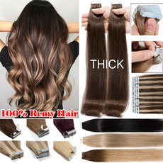hairstyle, Hair Extensions, human hair, tapeinhumanhairextension