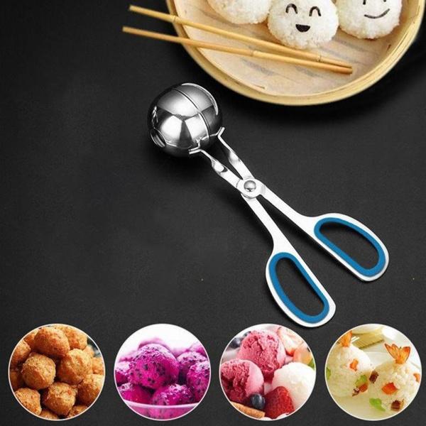 Acier inoxydable Viande Baller Scoop De Boulettes Maker cuisson outil Kitchen Dector W