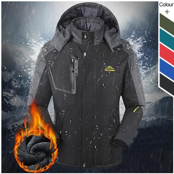 waterproofjacket, Outdoor, Winter, camping