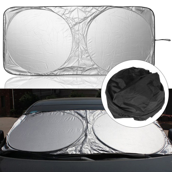 Folding Car Front Window Sun Shade Visor Auto Windshield Block Cover Protector