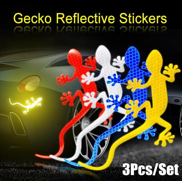 Tape Exterior Car Reflective Sticker Safety Warning Gecko Strip Light Reflector