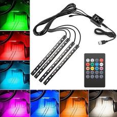 cardecor, neonlightsforcar, LED Strip, Remote Controls