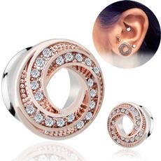 Steel, earpiercingjewelry, piercingjewelry, Stud Earring