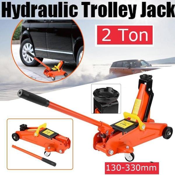 Hydraulic Trolley Jack 2T Capacity Car Lift Hydraulic Jack Automotive Lifter Trolley Jack Repair Tool