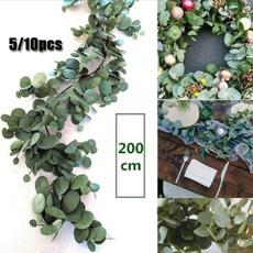 eucalyptusgarland, Decor, lawnamppatio, artificialplant