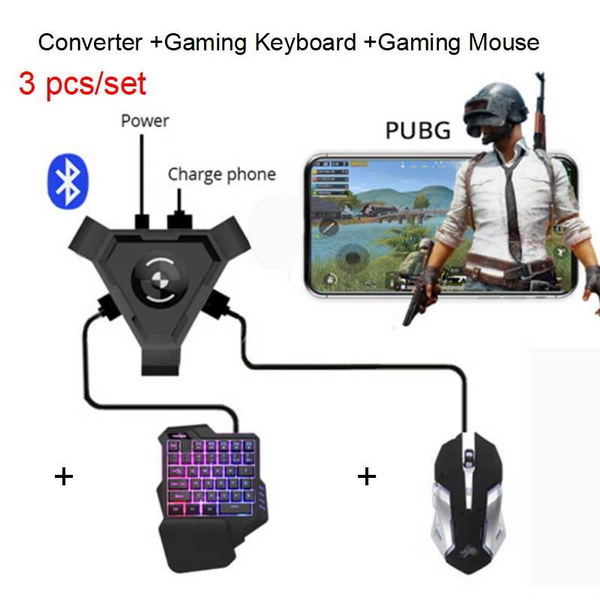 GameSir X1 BattleDock Converter Stand Portable Phone Holder for PUBG / FPS  Games with Keyboard and Mouse