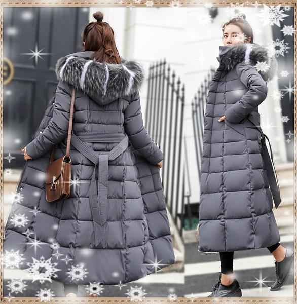 Plus Size, Winter, hoodedjacket, winter coat