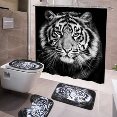 Tiger, Bathroom, Mats, Waterproof