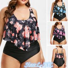 bathing suit, summer bikini, high waist, women swimsuit