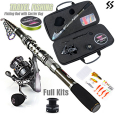 Outdoor, camping, fishingrod, Travel