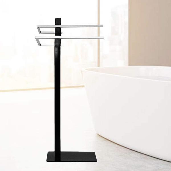 Foyuee Free Standing Towel Rack For