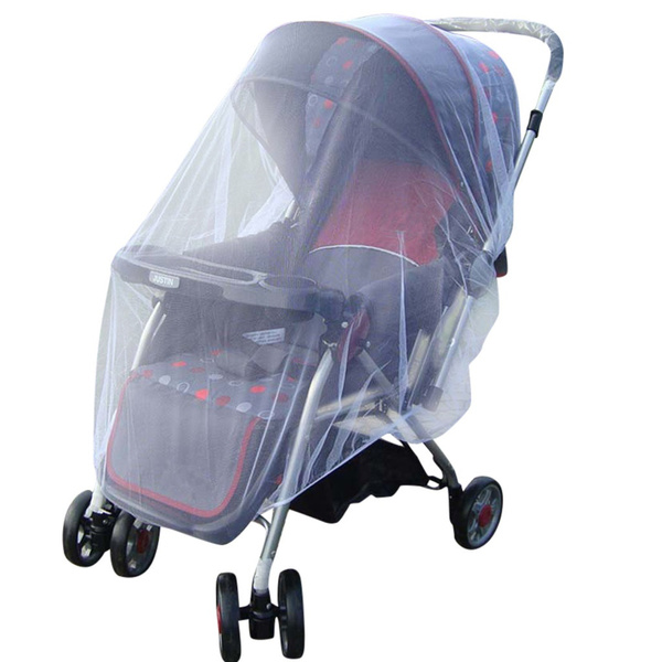 Stroller Pushchair Pram Mosquito Fly Insect Net Mesh Buggy Cover for Baby Infant