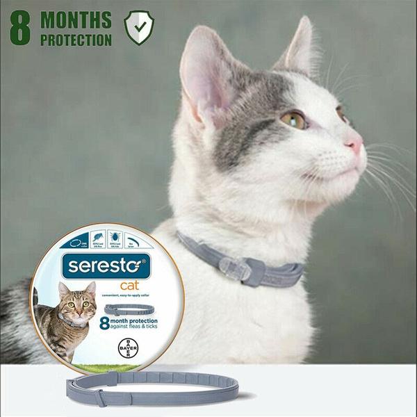 Seresto flea and cat collar, anti-mite repellent, suitable for cat collars