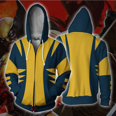 wolverinejacket, Pocket, hooded, Outerwear