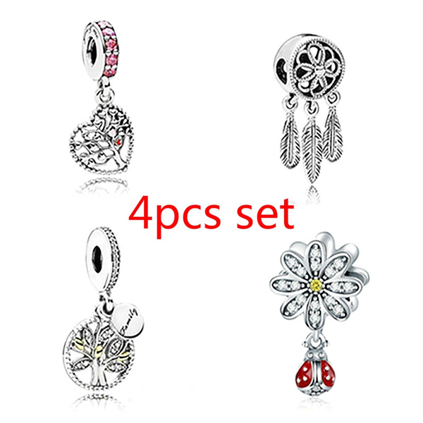 DIY Fashion Tree European Charm Crystal Spacer Beads Fit Necklace Bracelet  !