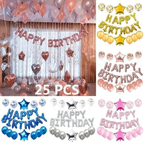 latex, Aluminum, birthdayballoon, birthdaypartydecoration