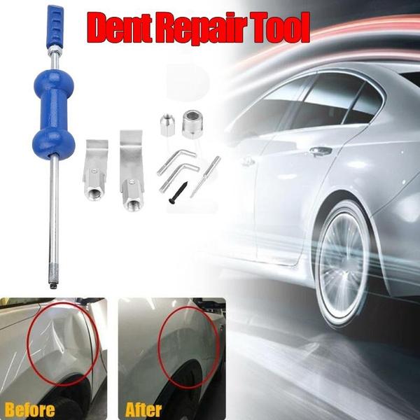 9pcs Car 5lb Body Dent Repair Tool Diy Auto Body Repairs