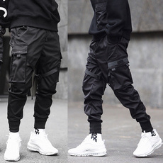 Hip-hop Style, harem, elastic waist, Waist