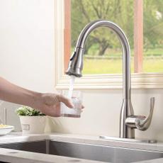 Steel, bathroomfaucetsink, mixertap, brushednickelkitchenfaucet